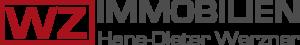 immo-Logo von WZ-Immobilien für Briefbögen, E-Mail und Website.Wz-Immobilien ist ein vertrauenwürdiger und kompetenter Immobilienmalker in Iserlohn