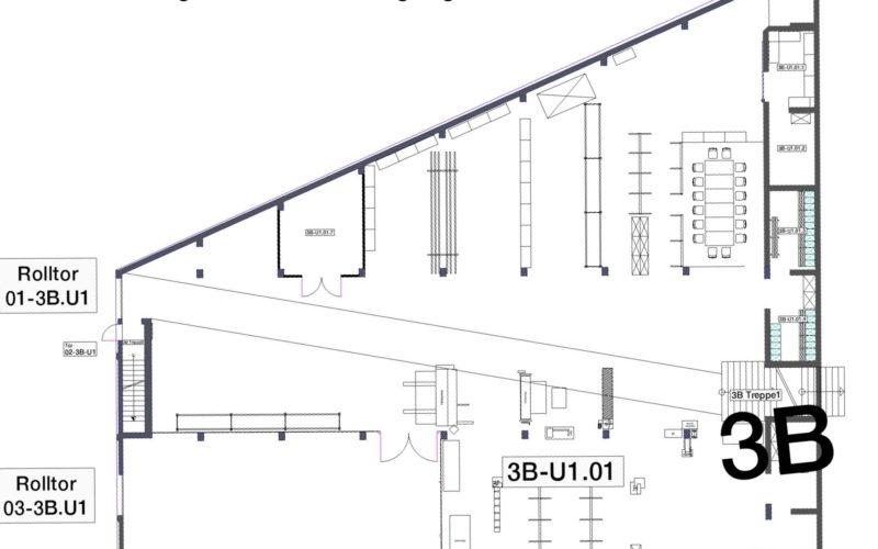 Untergeschoss der Gewerbeimmobilie Rombrock Iserlohn